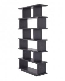Etagère-Bibliothèque Ernst noire - Largeur 150 cm