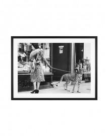 Large Frame Cheetah Print - 132x102cm