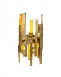 Lampe Seventies Gold H40cm