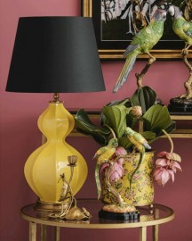 Cucurbitaceae Porcelain Table Lamp