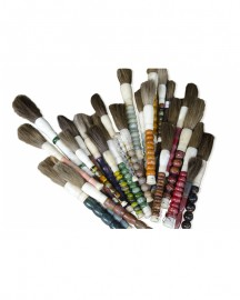 Calligraphy brushes Set of 10, China H30-35cm