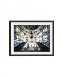 Baroque Grand Staircase Print L124cm