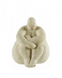 Statue Etude Femme Nue H34cm