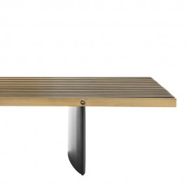 Metal Coffee Table Logan 220cm