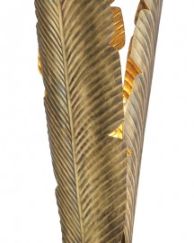 Porcelain & Bronze Blue Heron Table Lamp