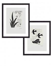 Gravures Georges Braque -  Set de 2
