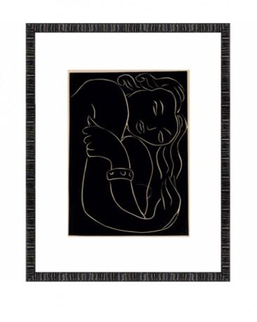 Engraving By Matisse:  Pasiphae, 47xH60cm