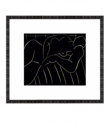 Seated Nude Prints Modigliani Set of 2