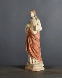 Christ Coeur Flamboyant - H 41cm