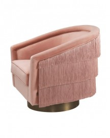 Swivel & Fringes Armchair Chachacha