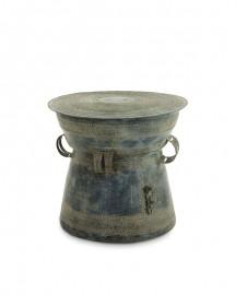 Pedestal Oxidized Finish Pompeii