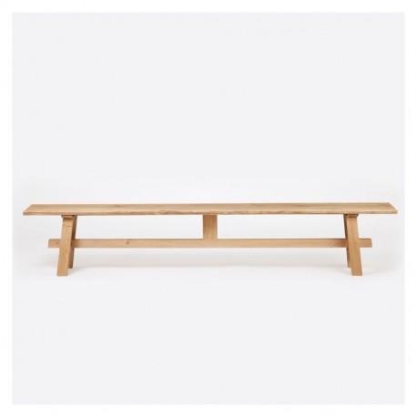 Bench in Solid Oak Atelier 200cm