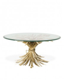 Round Coffee Table Ronde des Champs ∅ 90 cm