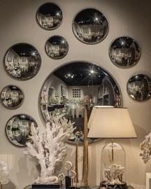 Grand Miroir Sorcière - ∅ 80 cm