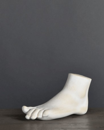 Statue, Plaster of Female Foot