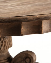 Wooden Round Table Ulysse ø160cm