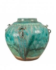 Vase Ethnique Céramique H30cm