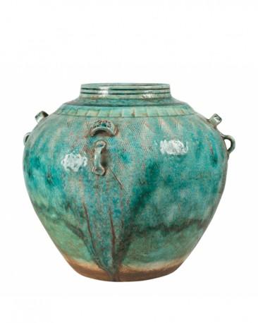 Ethnic Ceramic Vase H30cm
