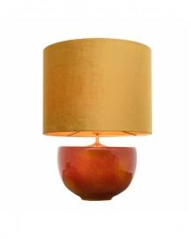 Lampe Jaune et Orange Céramique H63cm