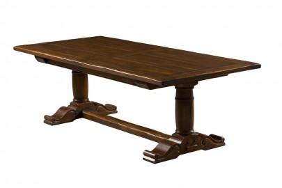 Table Monastère Chambord Chêne Sur Mesure