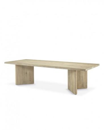 Table de Repas Chêne Massif Dolmen V - 280cm
