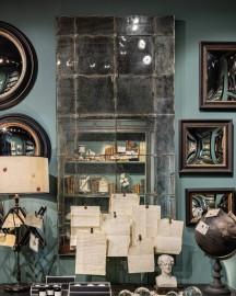 Miroir de café Parisien, style 1900
