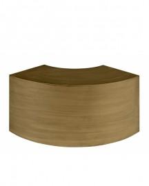 Table Basse Smile Métal Bronze - 85 cm