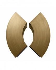 Coffee Table Bronze Metal Smile 85cm