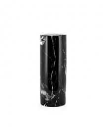 Vase Façon Marbre Noir - Céramique - H51cm