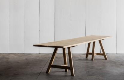 Table salle à manger en chêne massif  Pablo Sur mesure