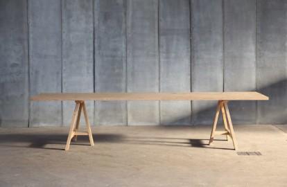 Table salle à manger en chêne massif  Pablo Sur-Mesure