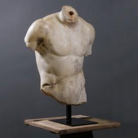 Buste fragmenté d'Hercule