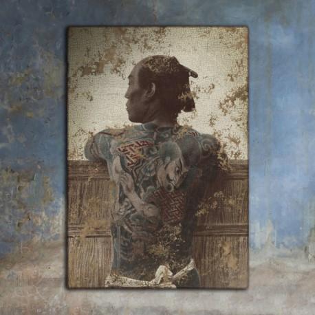 Japanese Tattooed Frame - Unknown Artist