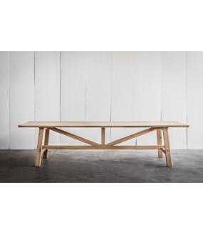 Grande table en Chêne Massif Atelier réalisée sur mesure