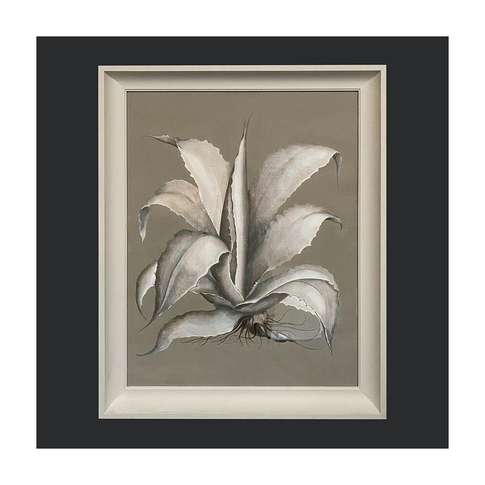 Beautiful Handmade Aloe Vera Prints.