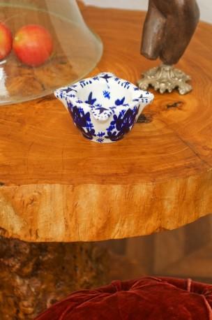 Glazed earthenware mortar