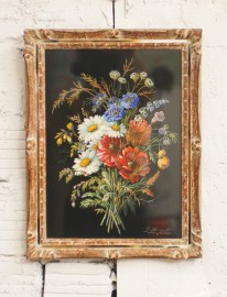 Paire of watercolors, Napoleon Style