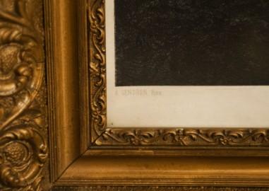 """Tableau gravure """"muses de la nature"""""""