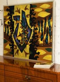 Tableau tapisserie Duprez 1981