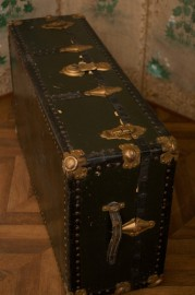 Old travel trunk