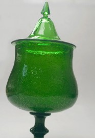Blown Glass Candy Box