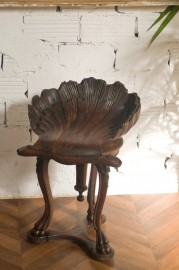 Tabouret Coquille, Style Régence