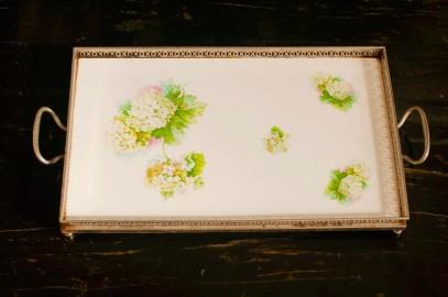 Porcelaine Serving Tray