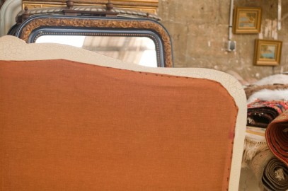 1950's bed, Louis XV style