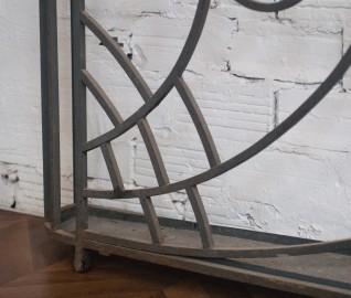 Porte parapluie en fer forgé, années 50