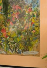 """Pastel """"Coinde Jardin"""""""