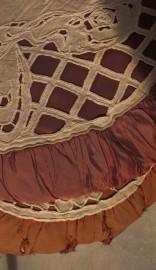 A pair of cushions, 1900