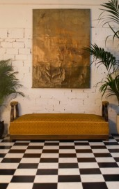 Loouis Philippe Antique Bench