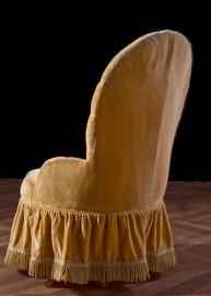 1900's squat armchair - BOOKED