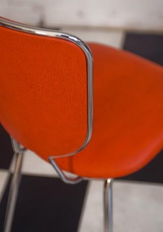 Chaise vintage orange, 70s